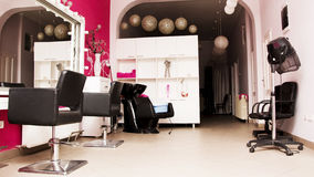 Beauty salon beautiful created Stock Images