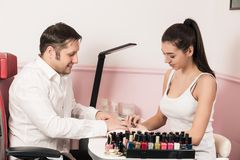 Beauty salon Royalty Free Stock Photos