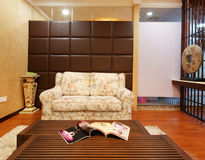 Beauty salon decoration. China luxurious decoration of the beauty salon Stock Photography