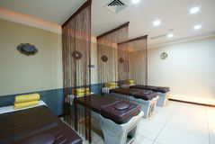 Beauty salon decoration. China luxurious decoration of the beauty salon Royalty Free Stock Photos