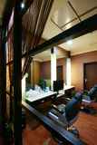 Beauty salon decoration. China luxurious decoration of the beauty salon Stock Images