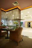 Beauty salon decoration. China luxurious decoration of the beauty salon Stock Photos