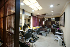 Beauty salon decoration Stock Photos