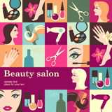 Beauty salon Royalty Free Stock Photography