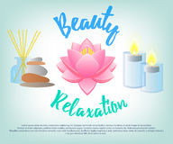 Beauty Salon. Facials, Beauty, Relaxation Royalty Free Stock Photography