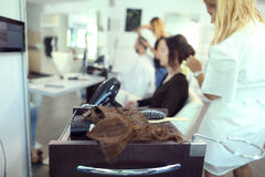 Beauty salon, inside Stock Photography
