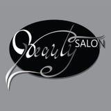 BEAUTY SALON. Logo design. Royalty Free Stock Photo