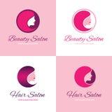 Beauty salon logo Stock Image