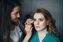 In the beauty salon Stock Photo