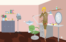 Beauty salon professional Stock Photos