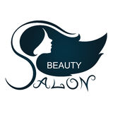 Beauty Salon Silhouette Royalty Free Stock Photo