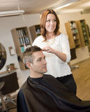 Beauty salon situation Royalty Free Stock Photography