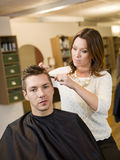 Beauty salon situation Stock Photos
