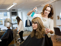 Beauty salon situation Royalty Free Stock Photo