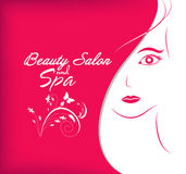 Beauty salon and spa Royalty Free Stock Photo