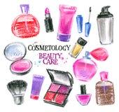 Beauty salon vector logo design template. perfume Royalty Free Stock Image