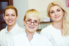 Beauty salon workers Stock Images