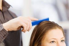 At beauty salon Royalty Free Stock Photos