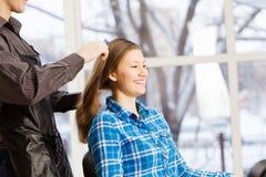 At beauty salon Royalty Free Stock Photo