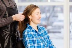 At beauty salon Stock Photography