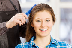 At beauty salon Royalty Free Stock Image