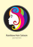 Beauty Saloon logo Royalty Free Stock Photo