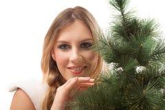 Beauty santa Stock Photo