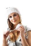 Beauty santa Stock Image