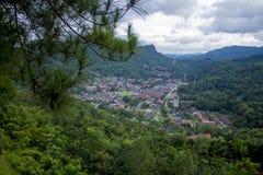 Beauty of sawahlunto, city of Ombilin Basin stock photos