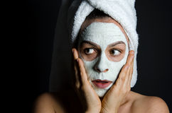 Beauty Scare Royalty Free Stock Photo