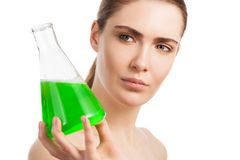 Beauty and science Royalty Free Stock Photography