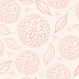 Beauty seamless floral pink Royalty Free Stock Photos