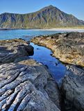 Lofoten, Beauty Seashore Royalty Free Stock Image