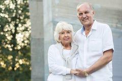 Beauty senior marriage Royalty Free Stock Photos
