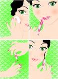 Beauty set Royalty Free Stock Photo