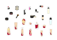Beauty Set Stock Images