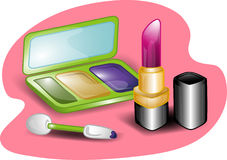 Beauty set illustration Stock Photo