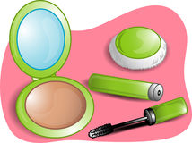Beauty set illustration Royalty Free Stock Photography