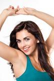 Beauty Shoot Mediteranean Woman Stock Images