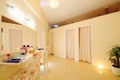 Beauty shop. A clean female beauty shop Royalty Free Stock Photo