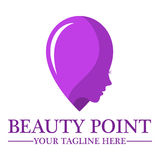 Beauty shop logo design template Stock Image