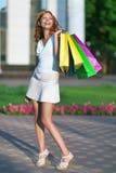 Beauty shopping woman Stock Photo