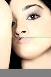 Beauty shot. Hi key female portrait Royalty Free Stock Image