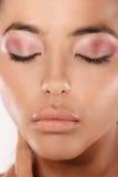 Beauty Shot Modern Eye Makeup Stock Images