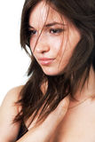 Beauty shot of pure young woman Stock Image