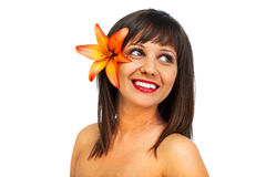Beauty shot of young woman Royalty Free Stock Photo
