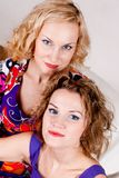 Beauty sisters Royalty Free Stock Photos