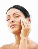 Beauty and skin. Royalty Free Stock Photography