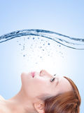 Beauty skin care concept Royalty Free Stock Photo