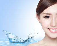 Beauty Skin care concept Royalty Free Stock Photography